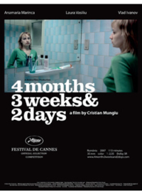 Poster – 4 Months, 3 Weeks and 2 Days
